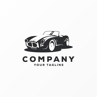 Awesome car logo design vector
