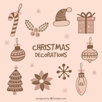 素晴らしいクリスマス飾りコレクション