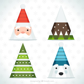 Awesome christmas party hat with different designs