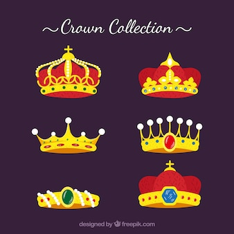 Awesome collection of luxury crowns