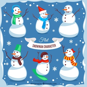 Awesome collection of snowmen for christmas