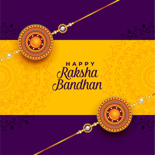 Awesome decorative rakhi  for raksha bandhan festival