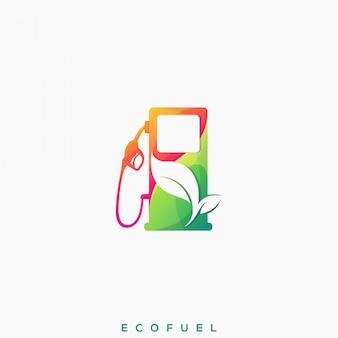 Awesome eco fuel premium logo
