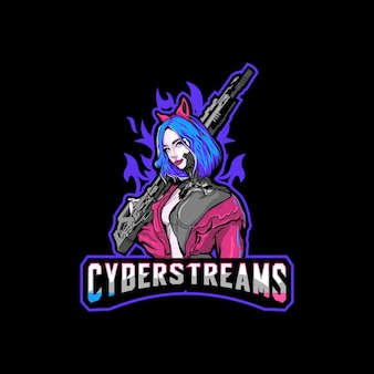 Awesome esport logo for your teamstreaming