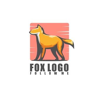Удивительный логотип лисы