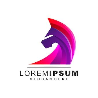 Awesome horse logo