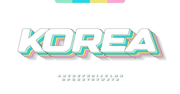 Awesome korea alphabet.