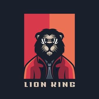 あなたのロゴのための素晴らしいライオン