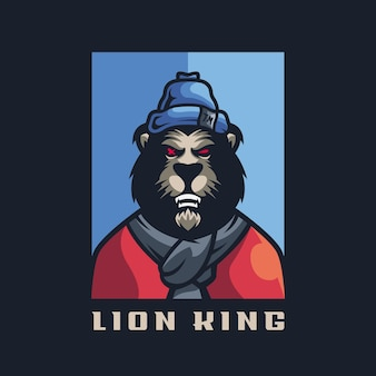 Awesome lion for your team