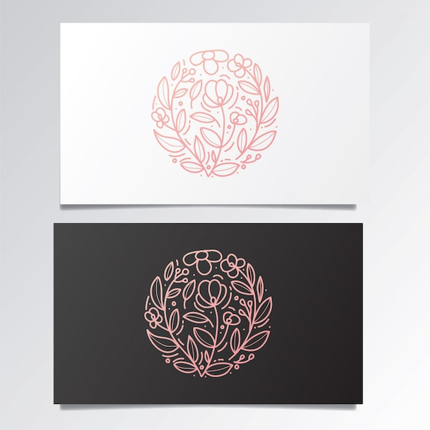 Awesome logo and business card set