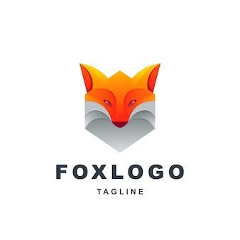 Awesome modern fox logo premium