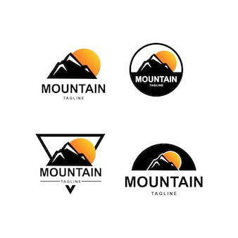 Awesome mountain logo  pack