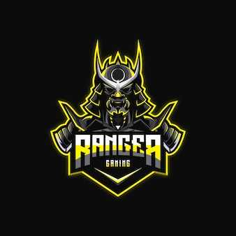 Awesome ninja logo design