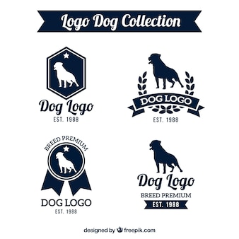 Awesome pack of dog logos