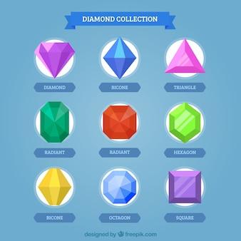 Impressionante confezione di pietre preziose