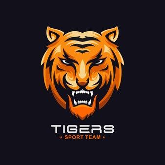 素晴らしいとどろく虎のロゴ