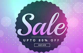 Awesome sale banner poster design