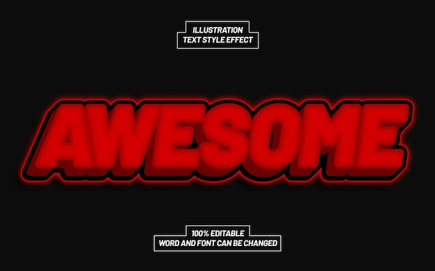 Awesome text style effect
