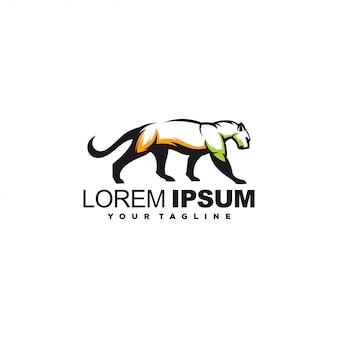 Awesome tiger hunting logo design