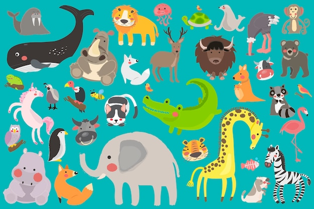 Awesome vector animals