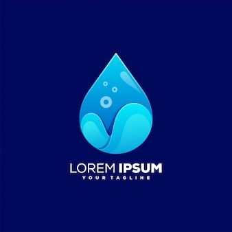 Awesome water color logo
