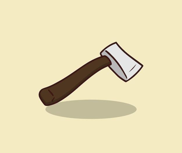 キャンプ用の薪を切るための斧