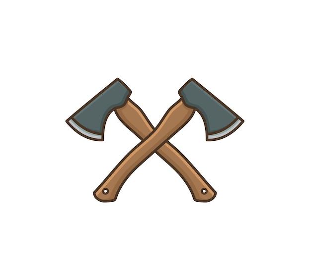 Axe icon symbol design vector illustration