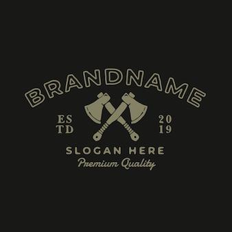 Axe vintage logo