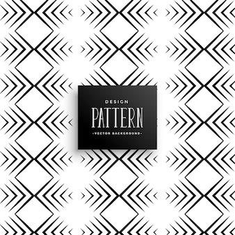 아즈텍 스타일 라인 패턴 디자인