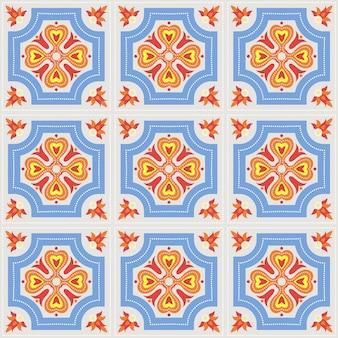 ポルトガル語azulejoタイル
