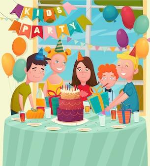 B-day party детская композиция