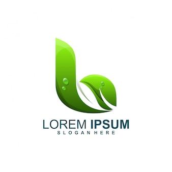B leaf logo