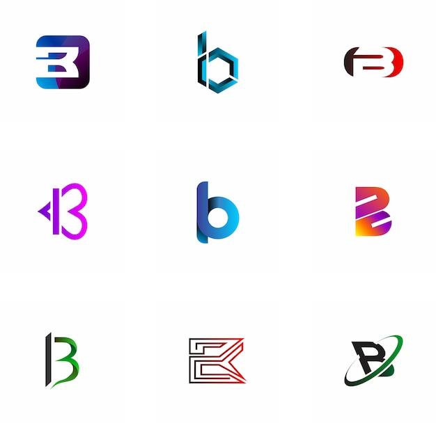 B letter logo design for company