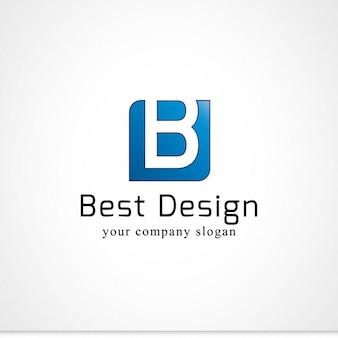 B lettera logo
