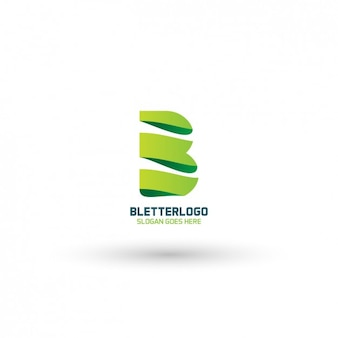 Современный b логотип