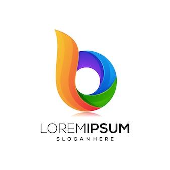 Значок логотипа буква b