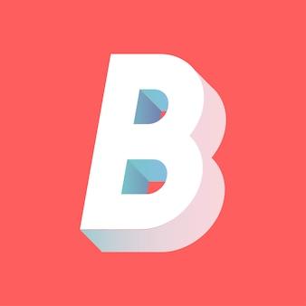 B письмо