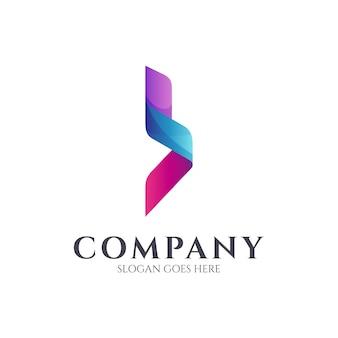Простая буква b логотип