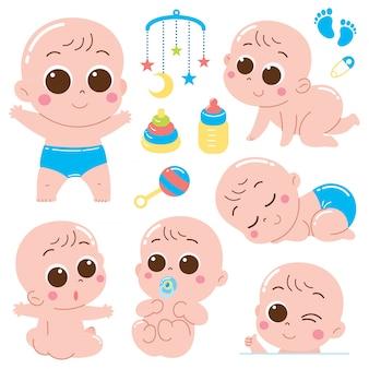 Набор символов baby baby