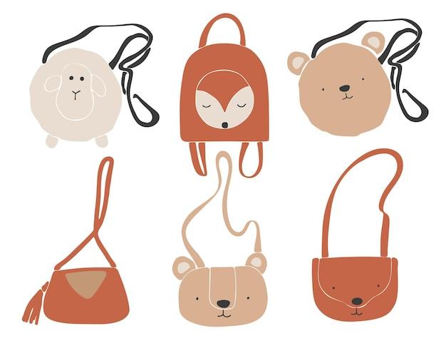 ベビー自由奔放に生きるバッグ、かわいいミニマルウェア