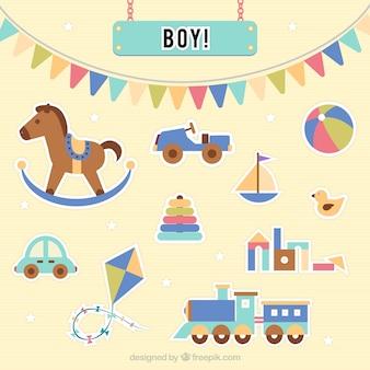 아기와 장난감