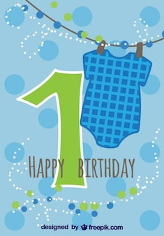 베이비 카드 첫 생일