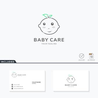 Baby care logo  inspiration