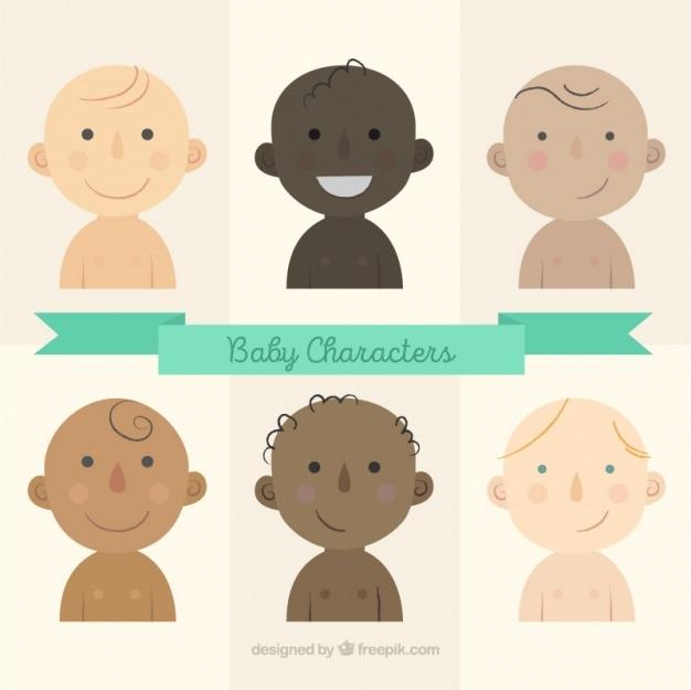 Коллекция символов для младенцев