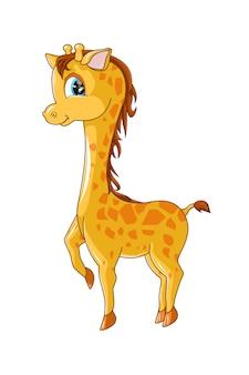 Детский милый жираф