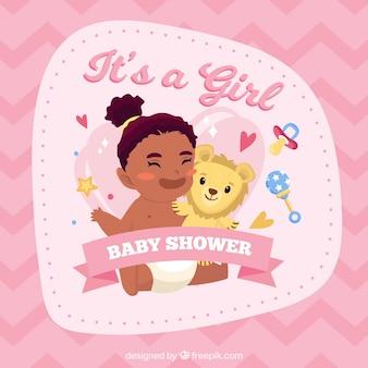 Priorità bassa della neonata in stile piano