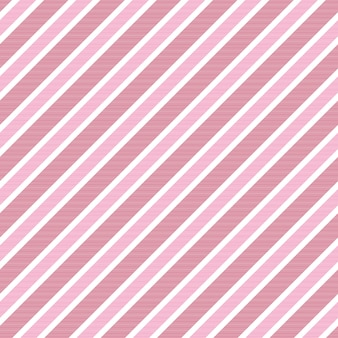Baby girl color pink striped background