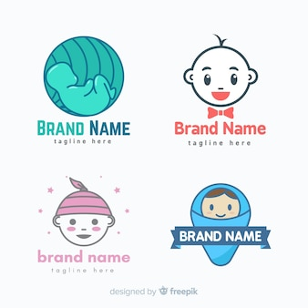 Baby logo collection