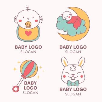 Коллекция детских логотипов