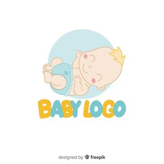 Baby logo template